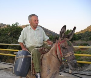 man-on-donkey-lesvos